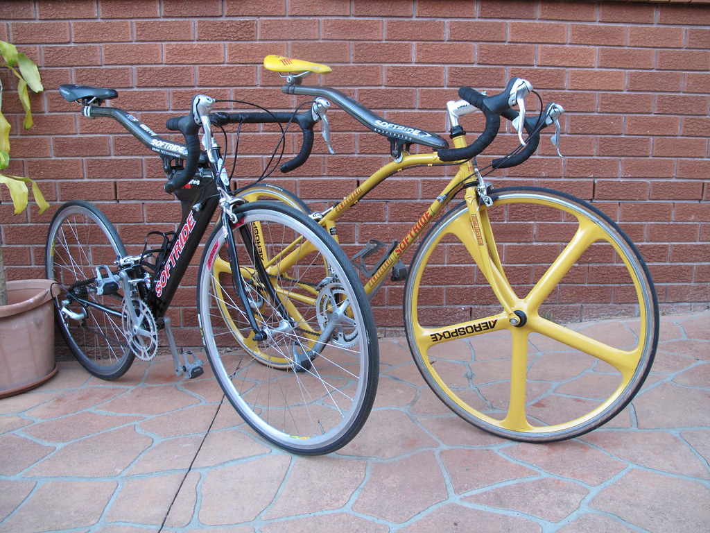 Allsop Softride and RoadWing Bikes for Parramatta Park Rides