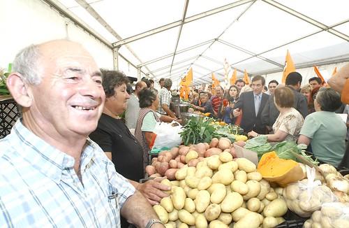Pedro Passos Coelho visita ao Mercado de Setubal