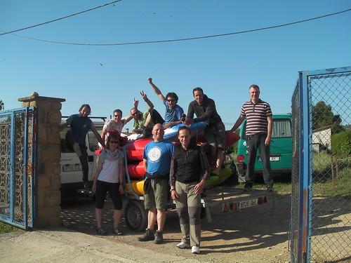 1º er Kayak camp de river guru, aaaagusto!!!