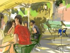 Adamastor (Manuel San-Payo) Tags: portugal downtown drawing lisboa lisbon sketching brushes sketches usk bairro sketchbooks sketchers ipad stacatarina adamastor urbansketchers urbansketcher stªcatarina