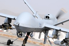 RAF Reaper MQ-9 Remotely Piloted Air System (Defence Images) Tags: uk afghanistan reaper military free equipment british uav defense defence raf unmanned drone royalairforce unmannedaerialvehicle rpas remotelypilotedairsystem