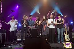 Le Final (M6 mobile music live) Tags: wood france yael nancy lilly ann prick laurent keren mlanie naim m6mobilemusiclive