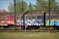 Tomcat (phluids) Tags: train copenhagen denmark graffiti graf trains danish tog tomcat 2011