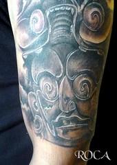 CULTURA MAYA (roca tattoo studio) Tags: tattoo maya tatuaje prehispanic azteca prehispanico precolombin