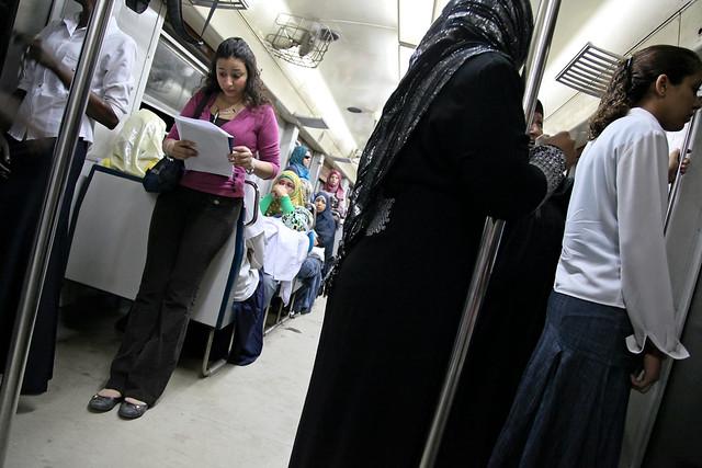エジプト、カイロの地下鉄