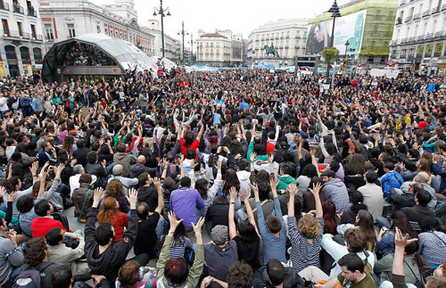 Democracia directa - Puerta del Sol