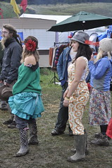 Wellies galore (ii) (petelovespurple) Tags: pink camping costumes people music sun beautiful rain smiling festival hippies drunk happy scotland dancing mud drinking hats tights flags wellies gummistiefel yurts dreds knockengorroch 2011 fraoch knocky knockengorrochworldceilidh gummistiefelgirl