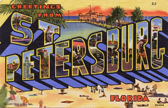 Greetings from St. Petersburg, Florida - Large Letter Postcard (Shook Photos) Tags: stpetersburg florida linen postcard postcards greetings saintpetersburg linenpostcard stpetersburgflorida bigletter saintpetersburgflorida largeletter largeletterpostcard linenpostcards largeletterpostcards bigletterpostcard bigletterpostcards