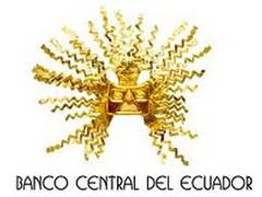 el Banco Central del Ecuador, a través de un boletín de prensa