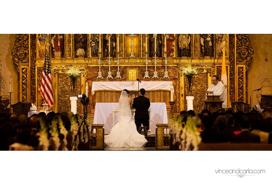 church kneel