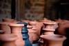 stand out pottery (gdinesh) Tags: india art nikon pottery chennai sculptures indianart dakshinachitra omr dakshinchitra 18105mm d7000