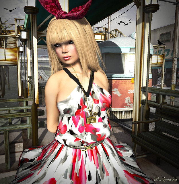 CHANTKARE CH1C - Soft Petals Dress & TRUTH June - macaroon