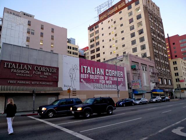 LK on the Italian Corner