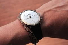 Max Bill Chronoscope (Anders Hansen) Tags: max design bill watch bauhaus wrist product klokke minimalist junghans