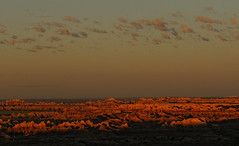 Badlands - The Day Begins (rickhanger) Tags: morning nature sunrise earlymorning badlands daybreak badlandsnationalpark supershot bej flickrdiamond