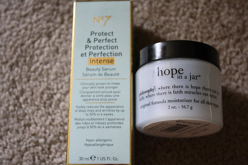 Boots No. 7 serum, Philosophy hope in a jar