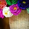 paper flowers (msdonnalee) Tags: flower fleur paper handicraft basket mexique bouquet rosas mexcio mexiko paperflowers messico paperroses mexicancrafts photosfromsanmigueldeallende doublyniceshot magicunicornverybest fotosdesanmigueldeallende