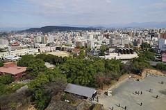 Legend of Kumamoto Castle and the Last Sumurai... (williamcho) Tags: city castle art history japan museum aerial historic rebellion samurai legend kumamoto kyushu kumamotocastle d300 thelastsamurai williamcho viewofkumamoto