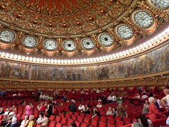 The great concert hall of the Ateneul Romn (Frans.Sellies) Tags: romania bucharest atheneum romanian concerthall boekarest rumnien roemeni romanianathenaeum ateneulromn p1320364