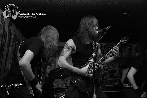 Unleash The Archers - Gus' Pub - June 23 2011 - 06