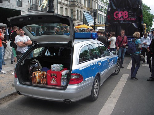Police Wagon with the goods
