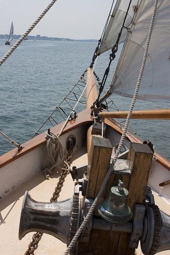 sailing in the Casco Bay, Portland, ME