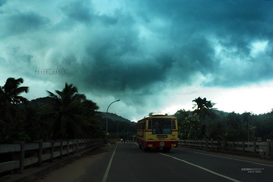 Nimbus Clouds - Photography by Haree for Nishchalam.