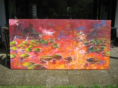 Seerose2 (Joachim Weigt) Tags: acky weigt acrylbilder acrylgemälde joachimweigt acrylbilderjoachimweigtackyacrylgemäldeacrylbilderweigt