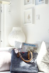 White + sunlight + decorate (Iro {Ivy style33}) Tags: white ikea bag book handmade pillows livingroom athome decorate interiordesign thepenthouse decor8 welivehere bemz ribbaframes byhollybecker sofacorner interiorsphotographybyivy fabrichandle ikeapscase homedecofromnewivystyleonetsy lovedecorate