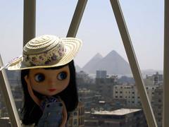 Egypt: Khufu's, Khafra's and little Menkhaura's pyramids - 3 years ago