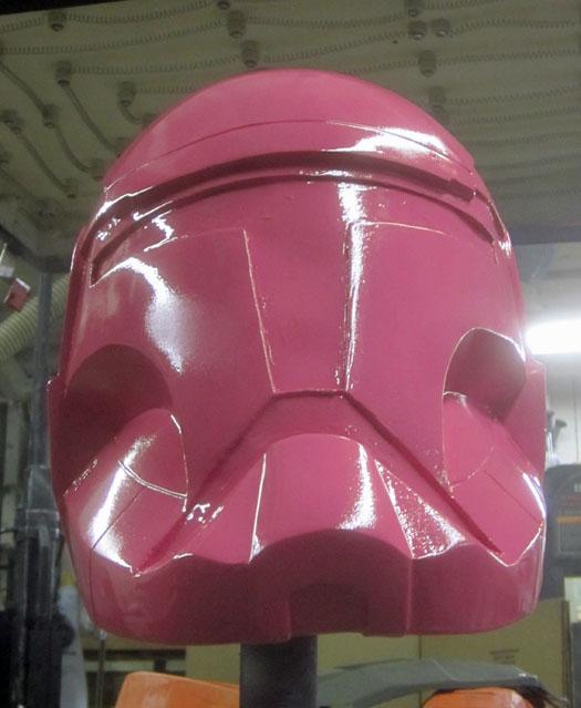 RC helmet chin