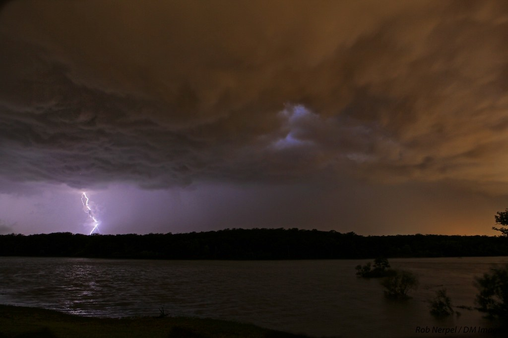 Lightning at the Lake