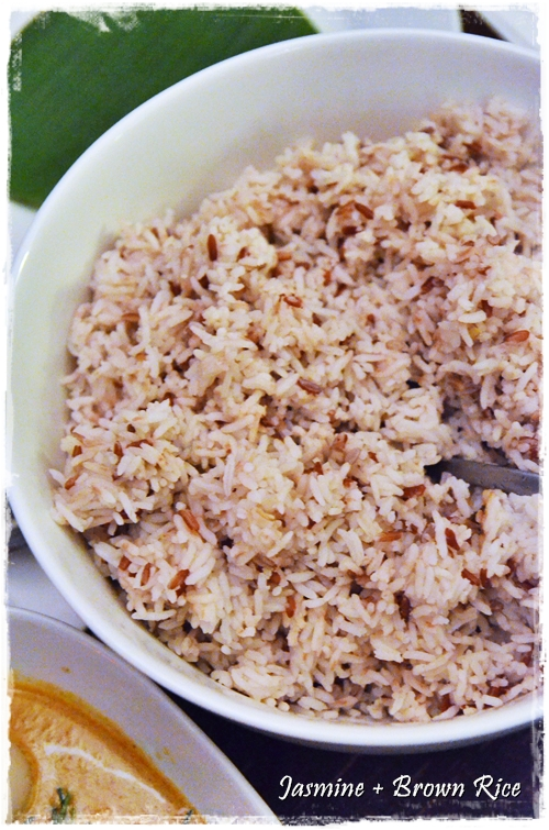 Jasmine and Brown Rice