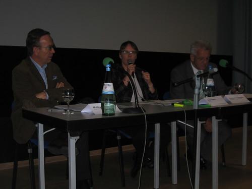 Matthias Wissmann, Anja Hajduk, Winfried Hermann