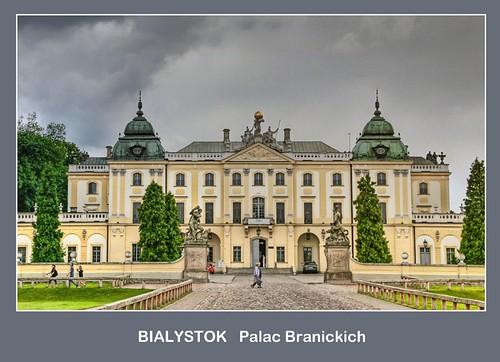 POLAND Bialystok,  Branicki Palace by Suriaa