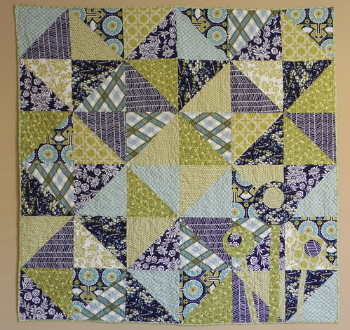 The Quilting Book Club- June Posie quilt FINISHED