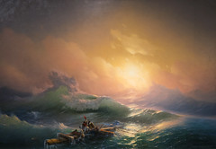 *** (shadobb) Tags: aivazovskyexhibition aivazovsky sea seaview paint sky sun sony a7rm2 a7r2 gm2470