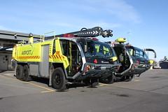 Christchurch International Airport Rosenbauer Panthers (ambodavenz) Tags: christchurch international airport crash fire rescue service appliance arff rosenbauer panther ca5 hret canterbury new zealand