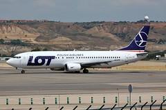 SP-LLG Boeing 737-400 Madrid Barajas Airport 27th May 2014 (_Illusion450_) Tags: aeropuerto adolfosuárezmadrid–barajasairport adolfosuárez madridbarajasairport adolfo suárez madrid–barajas airport madridairport 27514 270514 spllg boeing737400 lotpolishairlines lot