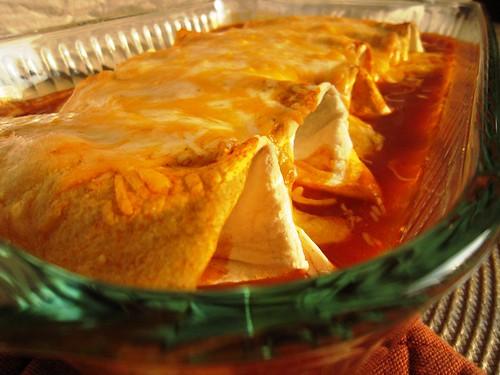 Baked enchiladas, take one