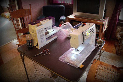 3 generation sewing day.