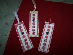 ladybug bookmarks