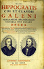 Jean-Baptiste Colbert: Title page from Hippocrates; Galen: Works
