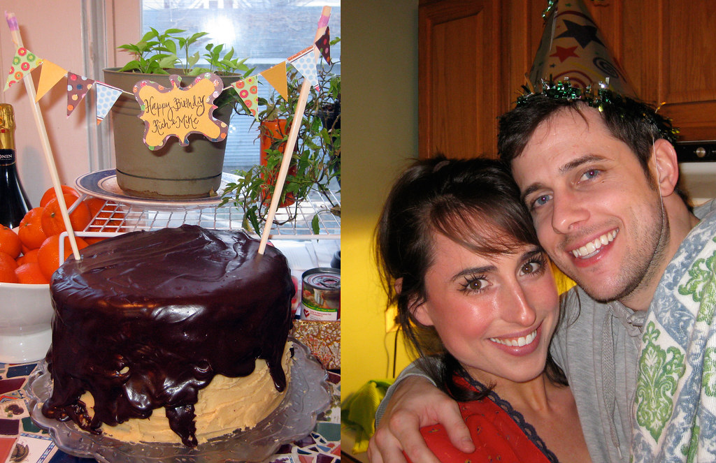 Cake Close-up and Rich and I