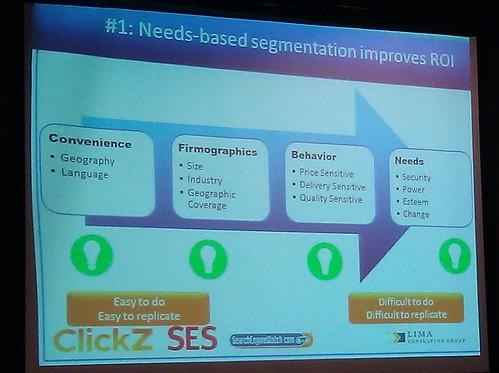 Need-based Segments