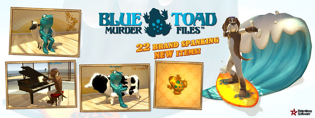 Home: Blue Toad Murder Files