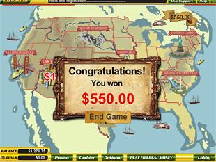 free Independence Day slot bonus game win