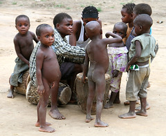 Pygmy Children (cowyeow) Tags: poverty africa people kids children kid interesting colorful child african poor culture tribal hunger congo uganda tribe ethnic indigenous pygmy pygmies semliki semlikinationalpark