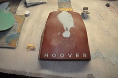 "Vintage Hoover Vaccum Hood Repair • <a style=""font-size:0.8em;"" href=""http://www.flickr.com/photos/85572005@N00/5559517222/"" target=""_blank"">View on Flickr</a>"