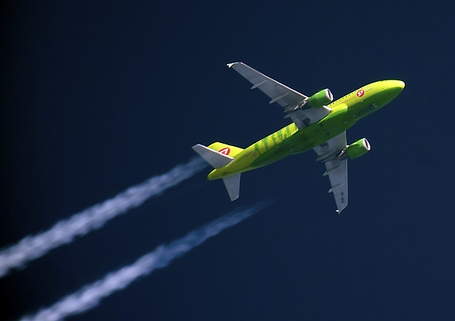 S7 Airlines A319 VP-BHV